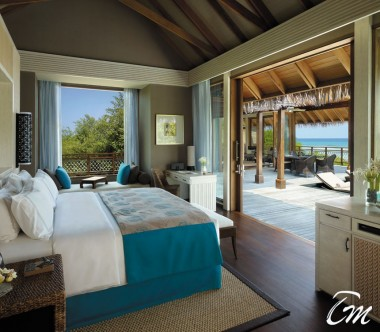 Shangri-La's Villingili Resort and Spa - Ocean Tree House Villa Interior