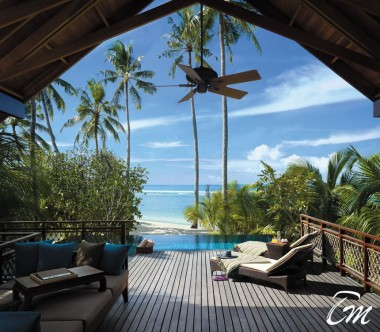 Shangri-La's Villingili Resort and Spa - Pool Villa Deck