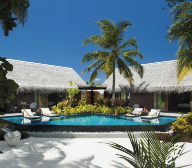 Shangri-La's Villingili Resort and Spa - 2 bedroom Beach Villa with Private Pool