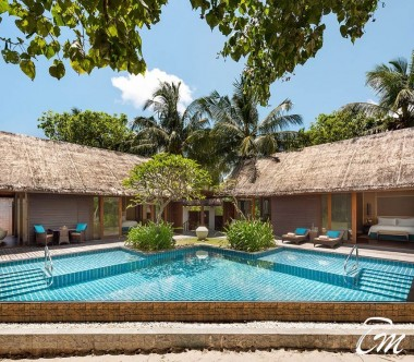 Shangri-La's Villingili Resort and Spa - family beach villa with private pool