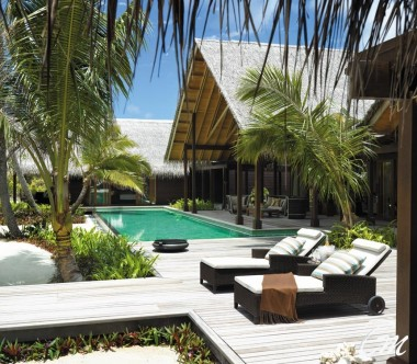 Shangri-La's Villingili Resort and Spa - Villa Laalu with private pool Exterior
