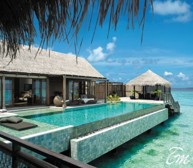 Shangri-La's Villingili Resort - Grand Water Villa Muthee Deck