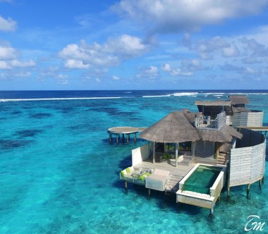 ix Senses Laamu Maldives Laamu Water Villa with Pool Exterior