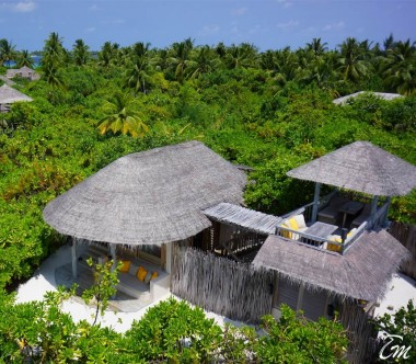 Six Senses Laamu Maldives Ocean Beach Villa