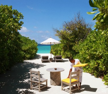 Six Senses Laamu Maldives Ocean Beach Villa Ovean View