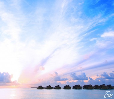 Six Senses Laamu Maldives Sunset Laamu Water Villas