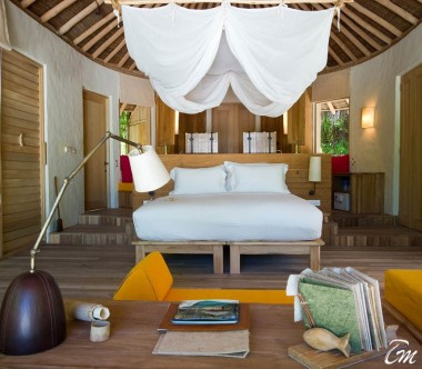 Six Senses Laamu Maldives Beach Family Villa with Pool  Interior