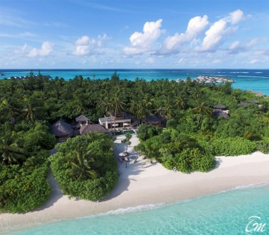 Six Senses Laamu Maldives Two Bedroom Ocean Beach with Pool