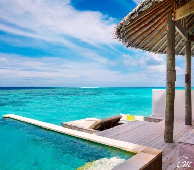 Six Senses Laamu Maldives Laamu Water Villa with Pool Deck