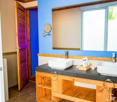 South Palm Resort Maldives Beach Villa Bathroom