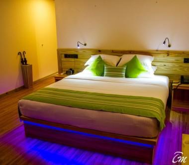 South Palm Resort Maldives Beach Villa Bedroom