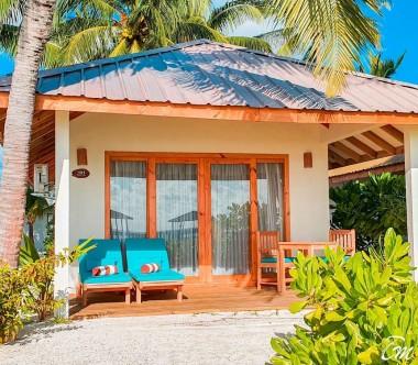 South Palm Resort Maldives Beach Villa Exterior
