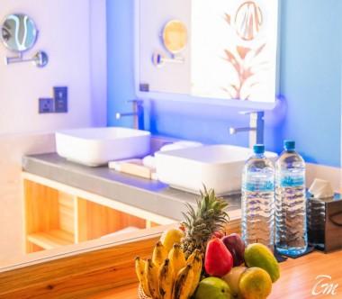 South Palm Resort Maldives Palm Villa Bathroom