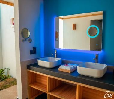 South Palm Resort Maldives Sunrise Villa Bathroom