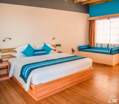 South Palm Resort Maldives Sunrise Villa Bedroom