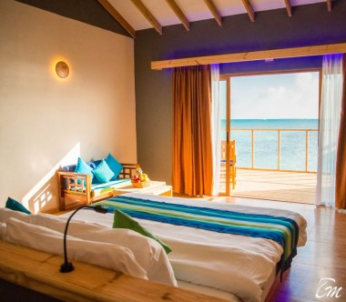 South Palm Resort Maldives Water Villa Interior