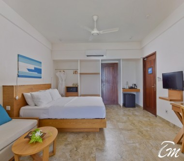 Summer Island Maldives Superior Beach Bedroom Interior
