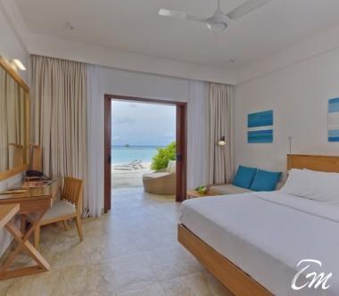 Summer Island Maldives Superior Beach Bedroom