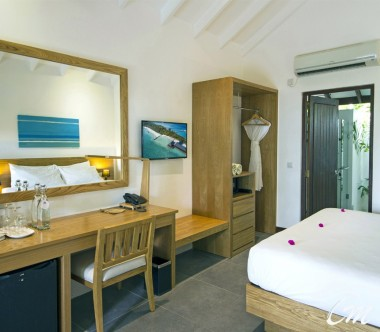 Summer Island Maldives Superior Bungalows Bedroom Amenities