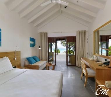 Summer Island Maldives Superior Bungalows Bedroom
