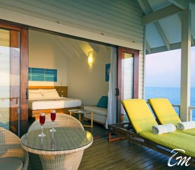 Summer Island Maldives Water Villa Deck