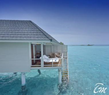 Summer Island Maldives Water Villa Exterior