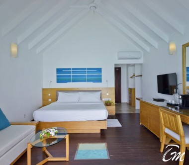 Summer Island Maldives Water Villa Interior