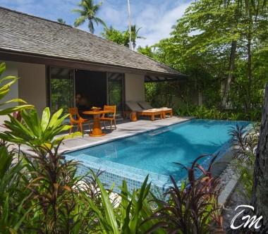 The Residence Maldives Dhigurah Sunrise Deluxe Beach Pool Villa