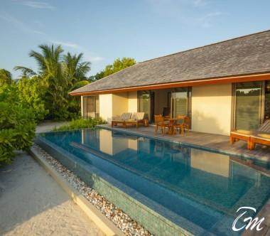 The Residence Maldives Dhigurah Sunrise 2 Bedroom Beach Pool Villa Pool