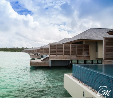 The Residence Maldives Dhigurah Sunrise Water Pool Villa Exterior