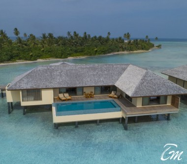 The Residence Maldives Dhigurah Sunset 2 Bedroom Water Pool Villa Exterior