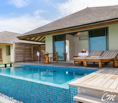 The Residence Maldives Dhigurah Sunset Water Pool Villa Exterior