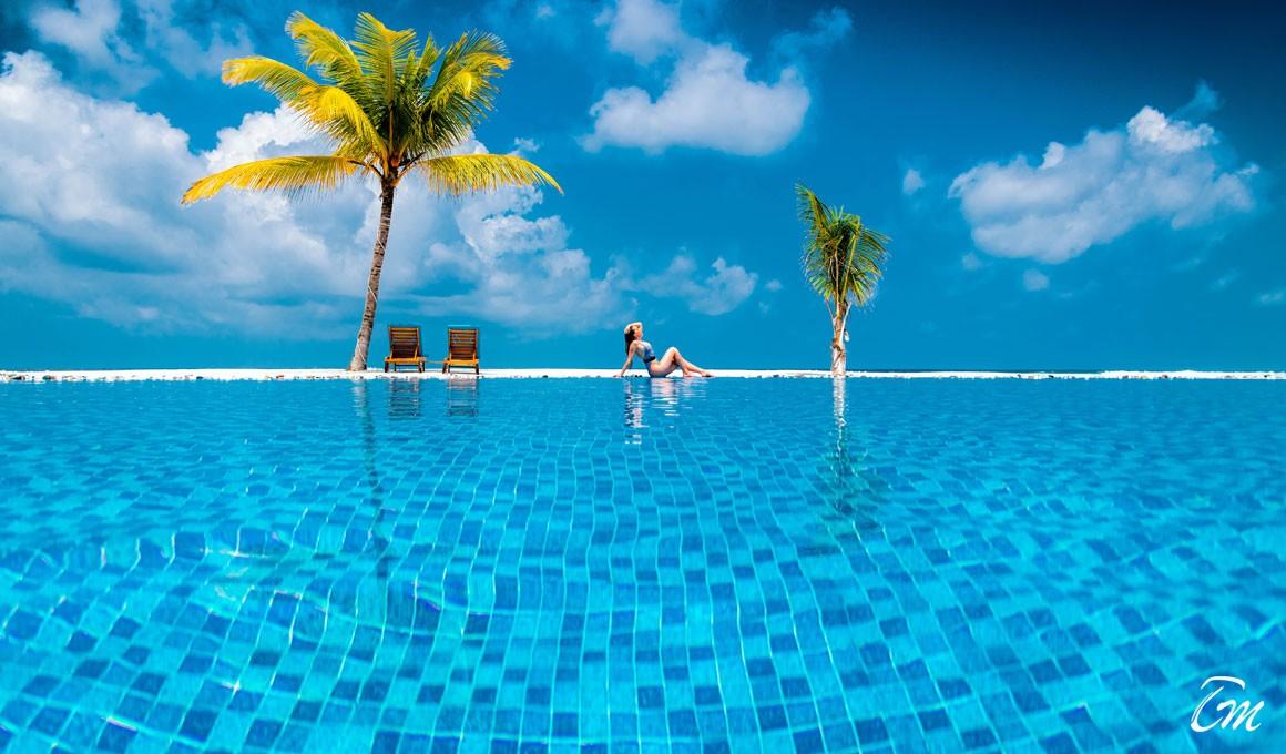 South Palm Resort Maldives Pool