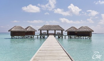 Conrad Maldives Rangali Island - Over-Water Spa on Rangali Island Exterior