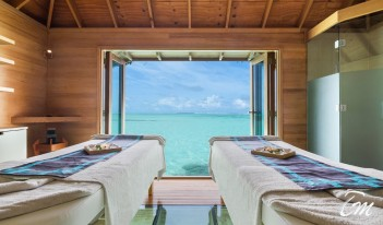 Conrad Maldives Rangali Island - Over-Water Spa on Rangali Island Treatment Room