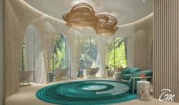 Hard Rock Hotel Maldives - Rock Spa Lobby