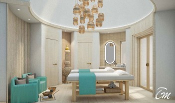 Hard Rock Hotel Maldives - Rock Spa Treatment Room