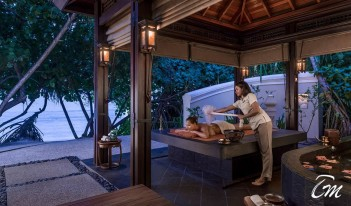 Shangri-La's Villingili Resort and Spa - CHI -The Spa Outdoor Hammam