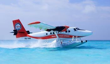 40 Minutes Transfer by Seaplane