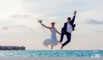 You and Me Maldives By Cocoon Beach Wedding